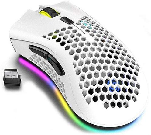 Attoe Honeycomb Design Gaming Mouse