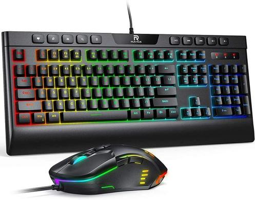 RUNMUS Gaming Keyboard and Mouse Combo