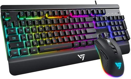 VicTsing Wired Gaming Keyboard and Mouse Combo