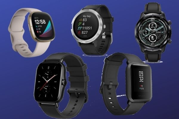 Which are the 5 best smartwatches for fitness