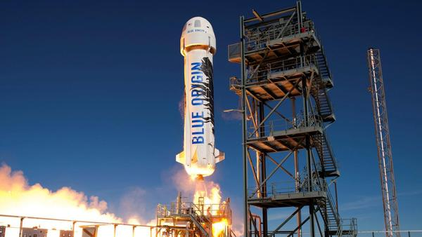Jeff Bezos's space company is going to fly its first astronaut crew to space on July 20th